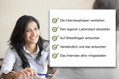 Bewerbungsinterview Interview Stressfragen Interviewphasen
